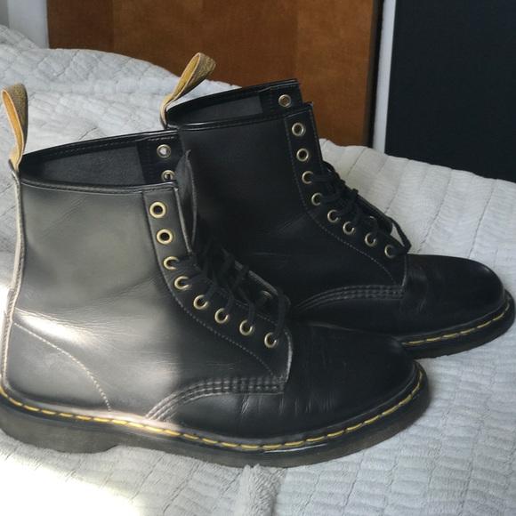 Vegan Dr Martens 1460 Boots Size 10M 11W